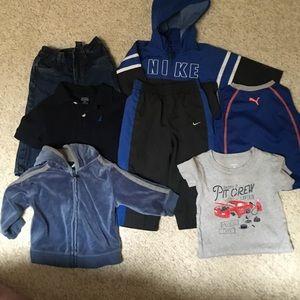 Baby boy 12 month mix bundle Nike tracksuit puma